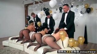 Hardcore sex party med liderlige piger