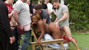 Kneppe og sperm fest med Jayden Starr